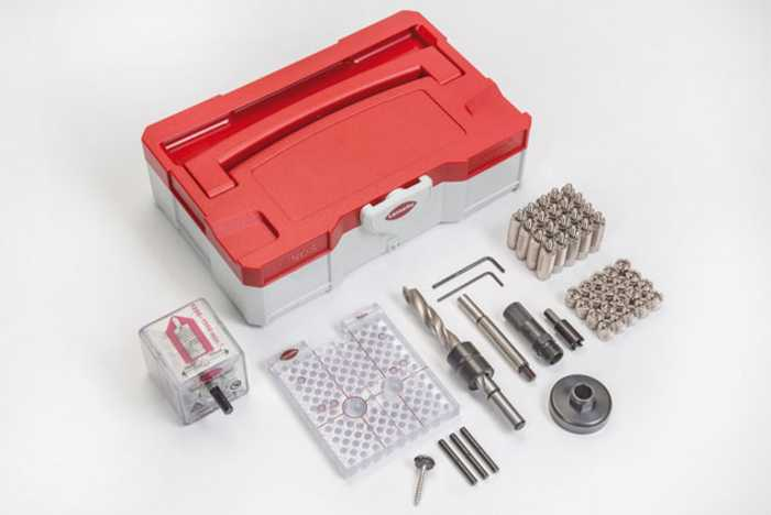 LAMELLO INVIS mx2 connecteur-Set avec eindrehmutter 14 mm6012300